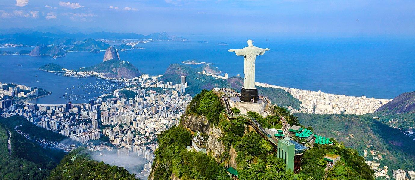 Map of Brazil - Facts & Information - Beautiful World